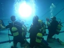 Погружение с аквалангом в Москве